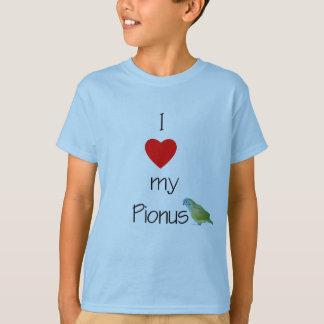 I Love My Pionus (pic) (2) T-Shirt