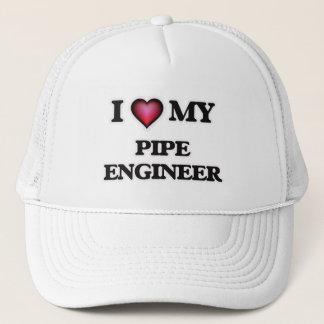 I love my Pipe Engineer Trucker Hat