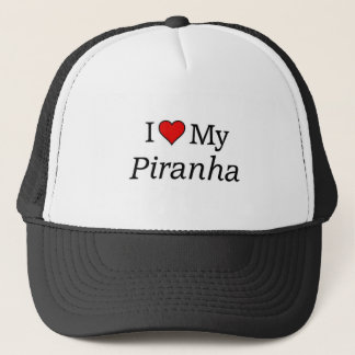 I love my Piranha Trucker Hat