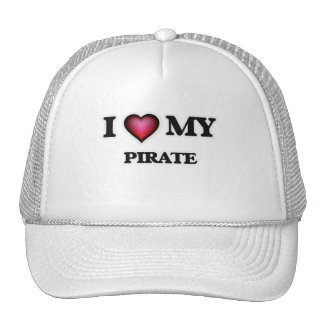 I love my Pirate Trucker Hat
