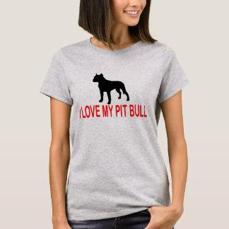 I LOVE MY PIT BULL 2730A T-Shirt