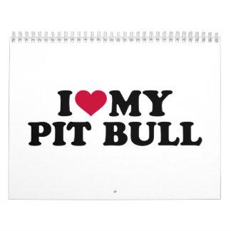 I love my Pit Bull Calendar