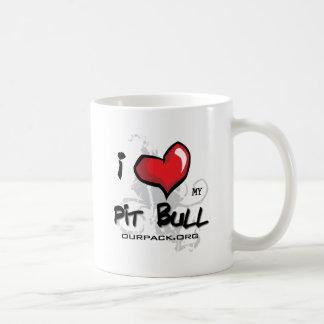 I Love My Pit Bull! Mugs