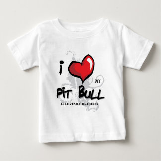 I Love My Pit Bull! Tee Shirt
