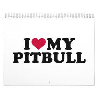 I love my Pitbull Calendar