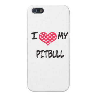 I love my Pitbull Case For iPhone SE/5/5s