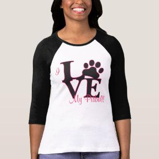 I Love My Pitbull T-Shirt Tshirt