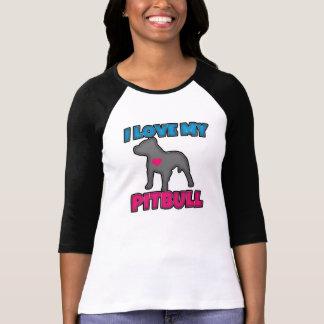 I Love my Pitbull Women's Shirt