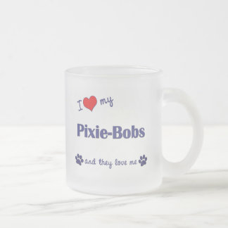 I Love My Pixie-Bobs Multiple Cats Mugs