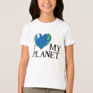 I love my planet kids shirt