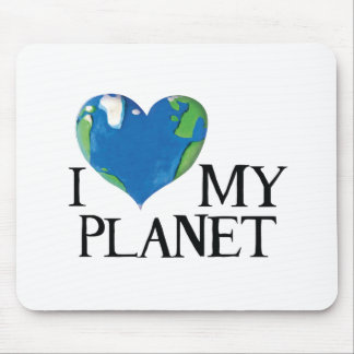 I love my planet mousepad