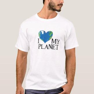 I love my planet t-shirt