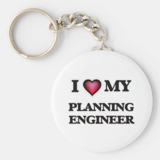 I love my Planning Engineer Keychain