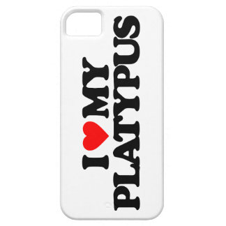 I LOVE MY PLATYPUS iPhone SE/5/5s CASE