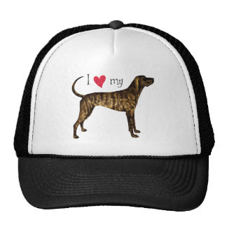 I Love my Plott Trucker Hat
