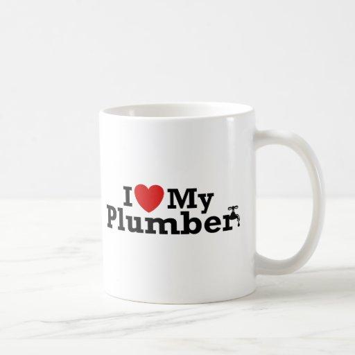 I Love My Plumber Coffee Mug