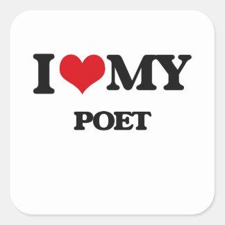I love my Poet Stickers