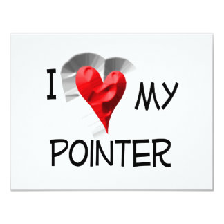 I Love My Pointer Card
