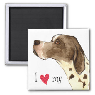 I Love my Pointer Magnets