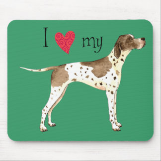I Love my Pointer Mouse Pad