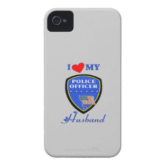 I Love My Police Husband iPhone 4 Cover