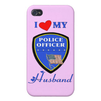 I Love My Police Husband iPhone 4 Case