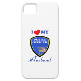 I Love My Police Husband iPhone SE/5/5s Case