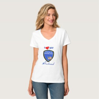 Police Husband T-Shirt