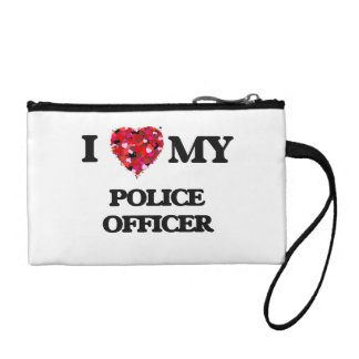I love my Police Officer Change Purses