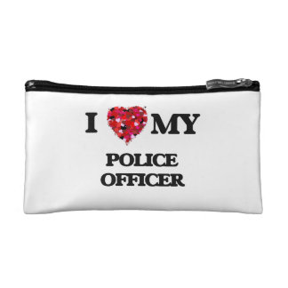 I love my Police Officer Makeup Bags