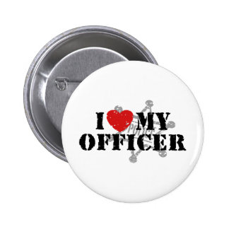 I Love My Police Officer Pins