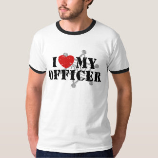 I Love My Police Officer T Shirt