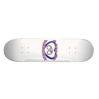 I Love My Policeman Skateboard Deck