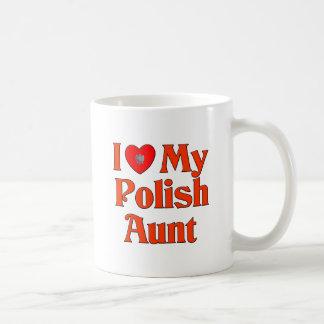 I Love My Polish Aunt Mugs