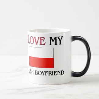 I Love My Polish Boyfriend Magic Mug