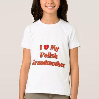 I Love My Polish Grandmother T-Shirt