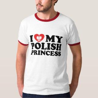 I Love my polish Princess T-Shirt