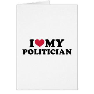 I love my Politician Card