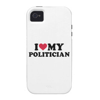 I love my Politician iPhone 4/4S Case