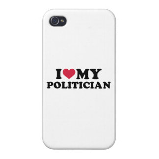 I love my Politician iPhone 4 Cover