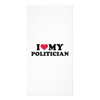 I love my Politician Photo Card