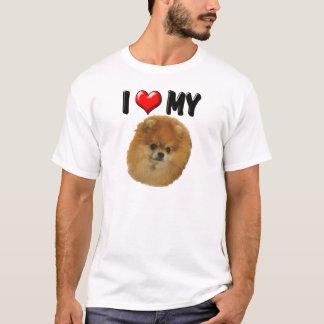 I Love My Pomeranian T-Shirt