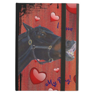 I Love My Pony! Cute Equestrian iPad Air Cases