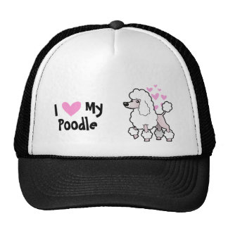I Love My Poodle (show cut) Trucker Hat