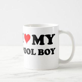 I Love My Pool Boy Coffee Mug