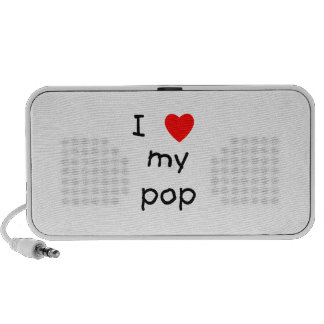 I Love My Pop Portable Speaker