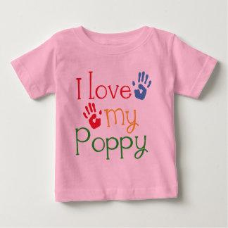 I Love My Poppy (Handprints) Infant T-shirt