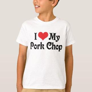 I Love My Pork Chop T-Shirt