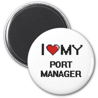 I love my Port Manager 2 Inch Round Magnet