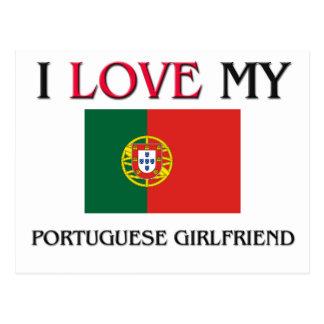 I Love My Portuguese Girlfriend Post Card